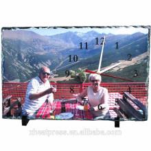 SH040 melhor preço ardósia de fotos de rock em branco para imprensa de calor de sublimação