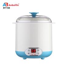 Anbolife Hot 4 Glass jars Max Multi Purpose 'Set and Go' Automatic Home Use Mini Yogurt and Greek Yogurt maker/Making Machine
