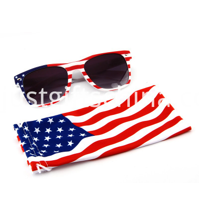 Promotional Flag Printing Retro Square Style Sunglasses