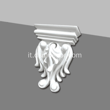 Piccolo Corbel decorativo in poliuretano decorativo