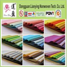 Perforador de aguja Poliéster no tejido de colores Felt