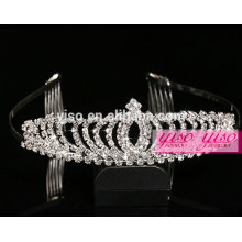 custom fashion happy birthday tiara crowns