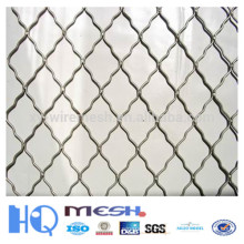 Galvanized Beautiful Grid Steel Wire Mesh for Fence