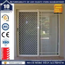 Двери алюминиевые раздвижные сетчатые