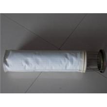 PPS y fibra de compuesto de fibra de PTFE de alta temperatura bolsa de filtro
