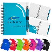 Personalisierte Notizbücher mit Spiralbindung