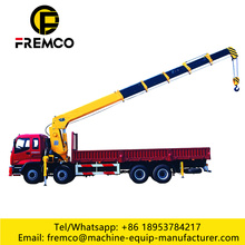 2 Ton Truck Mounted Knuckle Boom Crane
