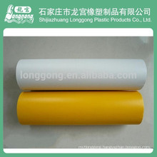 PVC sandblasting film for glass protection