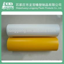 Película de jateamento de PVC para protecção do vidro