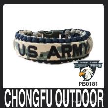 US ARMY nape tape paracord bracelets