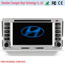 Reproductor de DVD de coche con Bluetooth para Hyundai Santafe