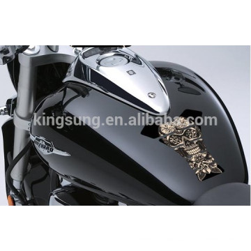 2014 motorcycle bike resin domed tank pad sticker for tank Protectors Shields