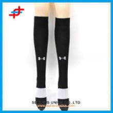 Chaussettes de sport à genoux, chaussettes de bas de soccer, manches de compression