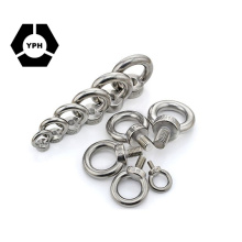 Wholesale Stainless Steel Ring Shape Thread Nut DIN582 Lifting Eye Nuts with Bolts