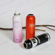 Recipiente de alumínio do pulverizador de aerossol para o agente de limpeza do automóvel (PPC-AAC-021)