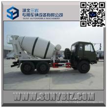 Moteur de Dongfeng CUMMINS outre du camion de mélangeur de béton de la route 5 M3