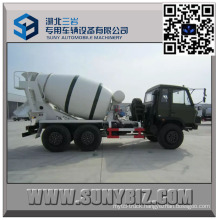 Dongfeng Cummins Engine off Road 5 M3 Concrete Mixer Truck