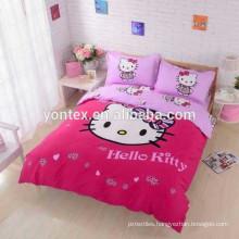 digital printing 100% cotton kids duvet cover cartoon printed beding sets