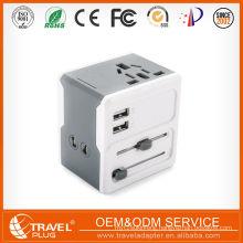 2016 multi plug usb ports Quality LongRich Design Travel electrical plug with top