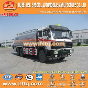 North-Benz 6X4 22000L camion citerne à carburant prix bon marché vente chaude à exporter