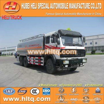 North-Benz 6X4 22000L fuel tank truck cheap price hot sale for export