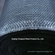 hotel use square iron wire mesh galvanized window screen