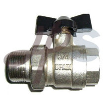 full port ball valve with union