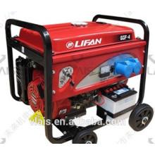 Air-cooled gasoline generator set , LIFAN 6.5KVA king power gasoline generator
