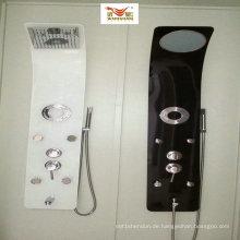Dusch-Set mit silberner weißer Farbe