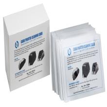 Carte de nettoyage d'imprimantes de carte d'identification, carte de nettoyage de CR80