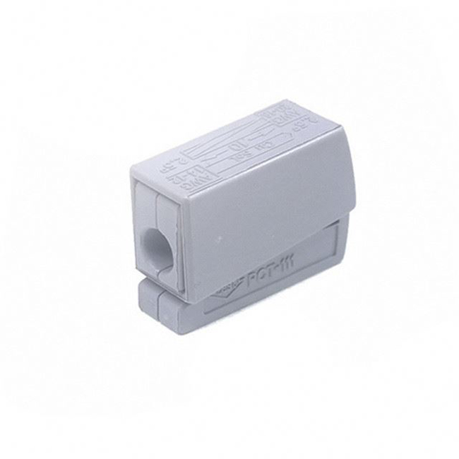 PCT-111 Gray fixture connector with 1 pole