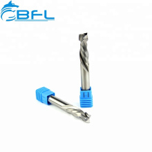 BFL Tungsten Carbide 2 Flute Up and Downcut End Mill For CNC Lathe
