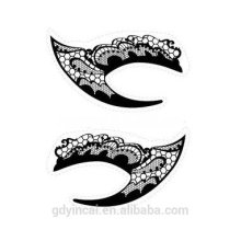 Hot sale the newest design for eye shadow fake tattoo sticker with agent price