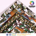 Cotton army uniform camouflage printed fabric