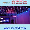 Music Sync DMX 3D RGB LED Tube Lamp
