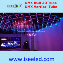 Music Sync DMX 3D RGB LED Tube Lamp