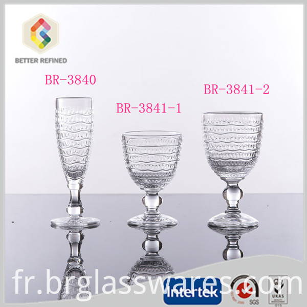 goblet glass cup
