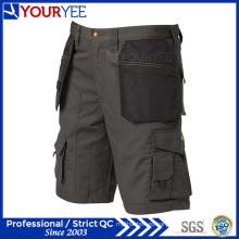 Ligero multi bolsillos ocasionales pantalones cortos para hombre (YGK112)