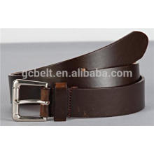Man's casual split leather fashion belt