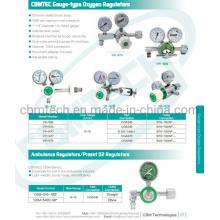 Medical Cbmtec Oxygen Pressure Regulators, Gauge Flow Oxygen Regulators