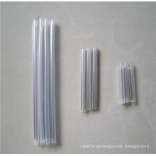 Precio bajo shenzhen 20m m 40m m 45m m 60m m fibra óptica encogimiento del calor protección del tubo fuerte aguja de acero del perno