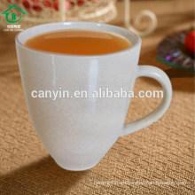 2015 nuevas tazas en blanco blancas baratas calientes de cerámica de cerámica