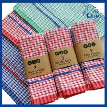 Serviette de cuisine 100% coton-gaufre (QHKT551)
