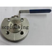 Válvula de esfera flangeada Wafer 1PC (DIN)