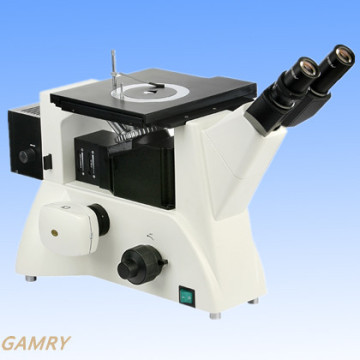 Umgekehrtes metallurgisches Mikroskop Mlm-20 Qualität