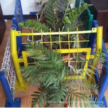 Clôture recouverte de PVC 3D, clôture 358 Anti Climb, clôture double fil Nylofor 2D, porte de clôture
