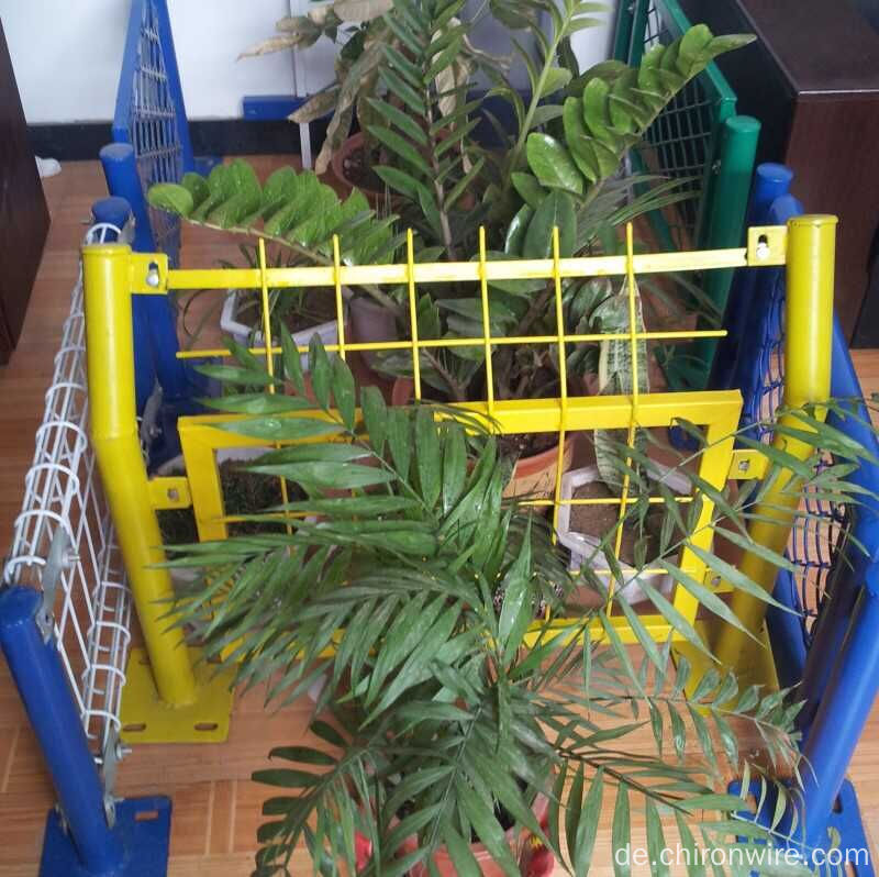 3D PVC beschichtete Zaun, 358 Anti Climb Zaun, Nylofor 2D Doppel ...