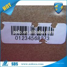 Professional Manufacturer anti-counterfeit custom logo vinyl label