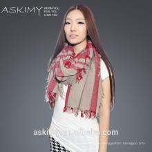 100% шерстяной платок шерстяной моды 2015