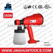 JS 350W Pistolet à peinture électrique pistolet pulvérisateur électrique bricolage 800ml, JS-HH12A
